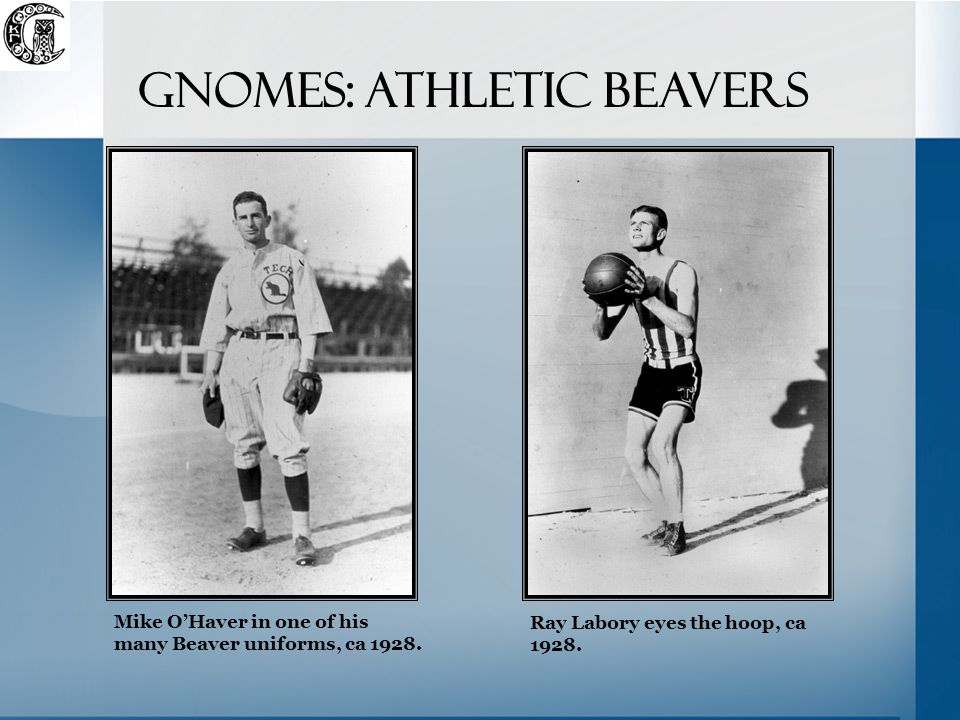 Mike O'Haver in one of his many Beaver uniforms, ca 1928.