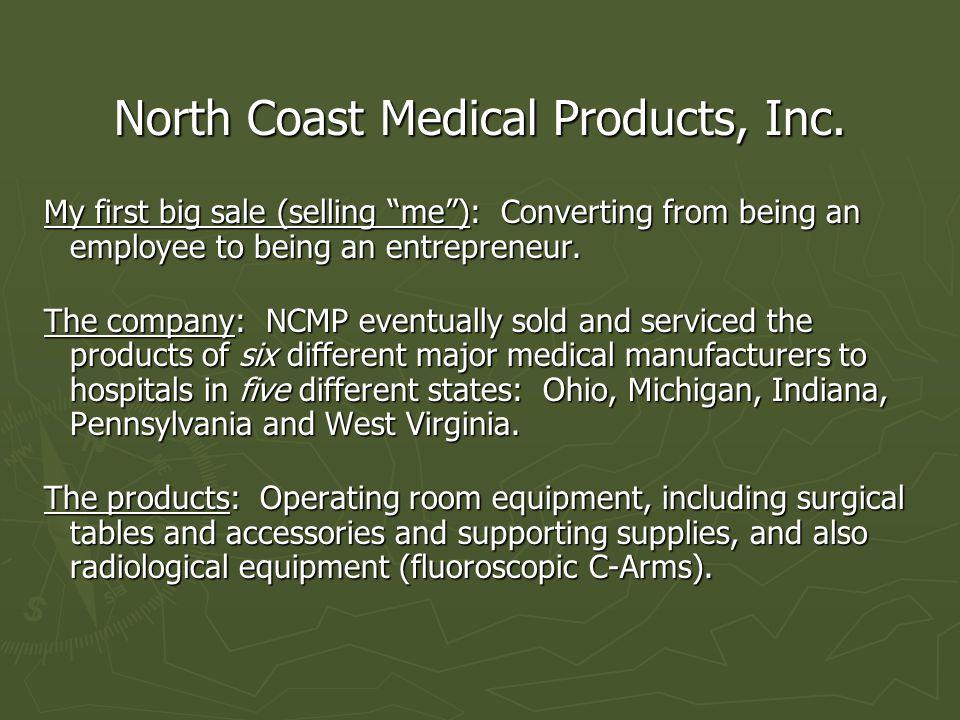 North Coast Medical Products, Inc.