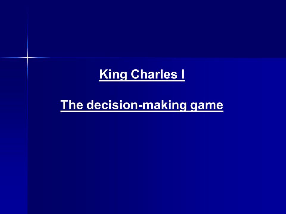 Charles' decision He chose 'a'.He chose 'a'.