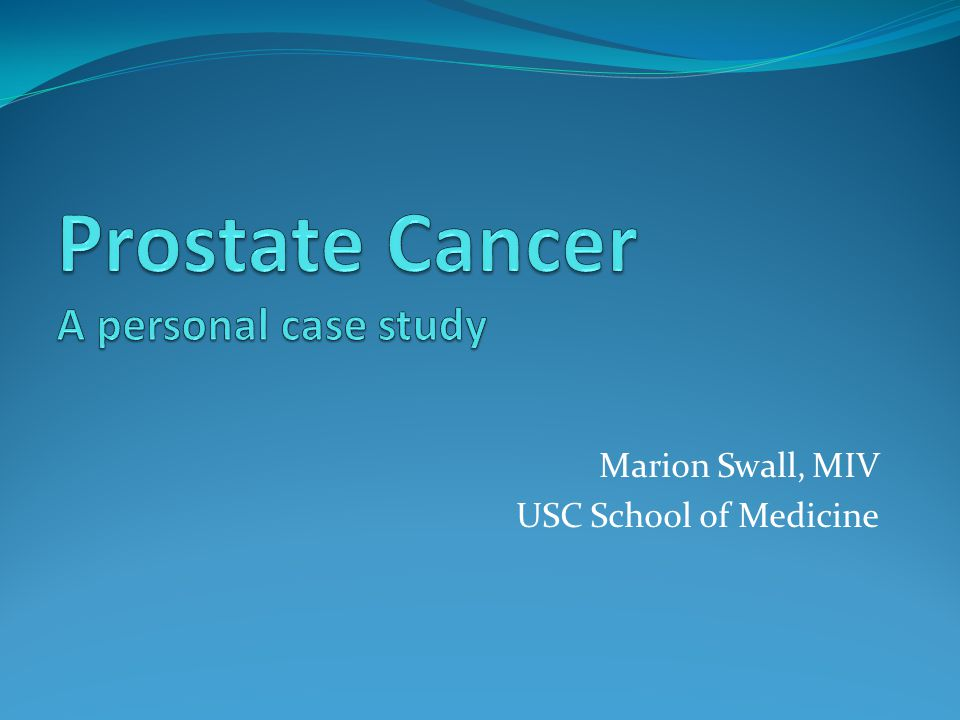 Marion Swall, MIV USC School of Medicine