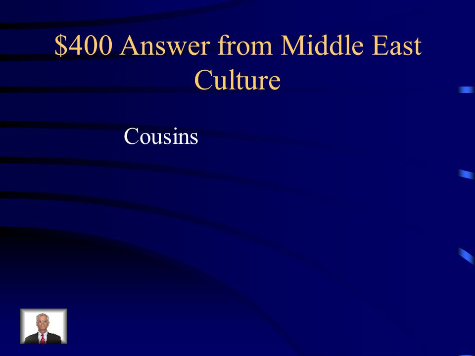$400 Question from Middle East Culture Middle Eastern families are often inclusive of this group, something that Eastern Kentucky families have in common.