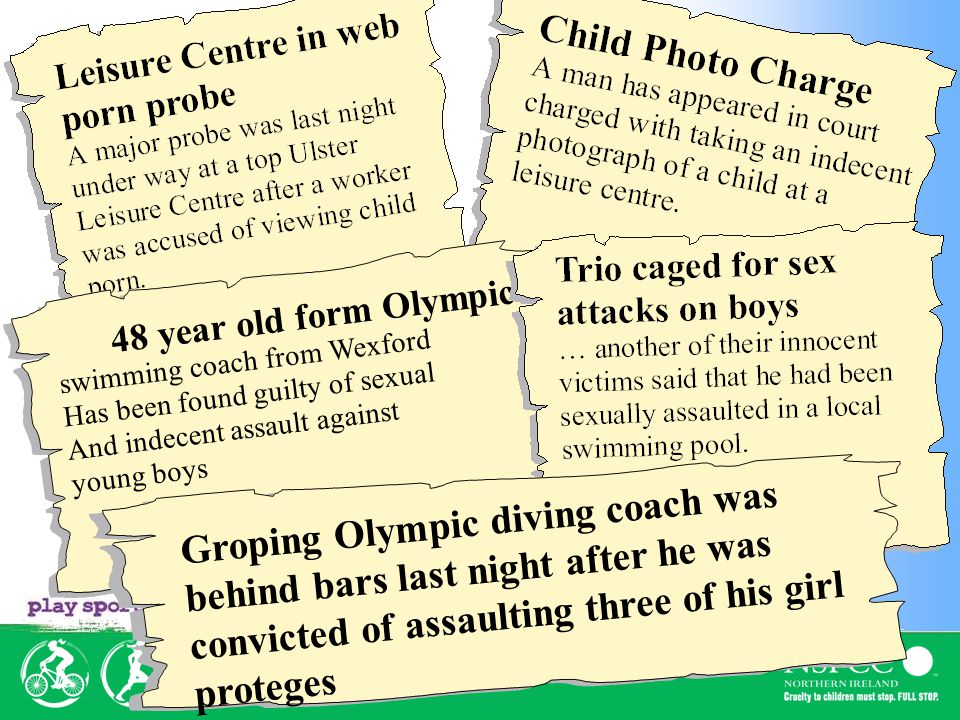 48 year old form Olympic swimming coach from Wexford Has been found guilty of sexual And indecent assault against young boys Sunday People, June 02 Groping Olympic diving coach was behind bars last night after he was convicted of assaulting three of his girl proteges