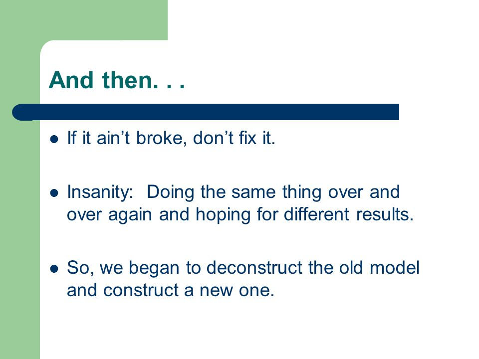 The old model: You need EL training to teach EL kids.