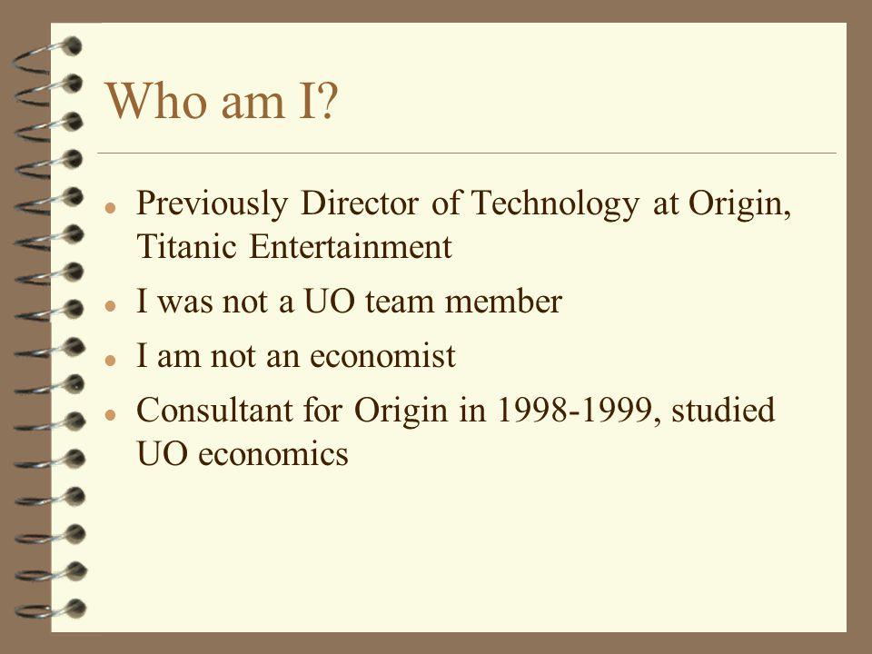 Who am I.