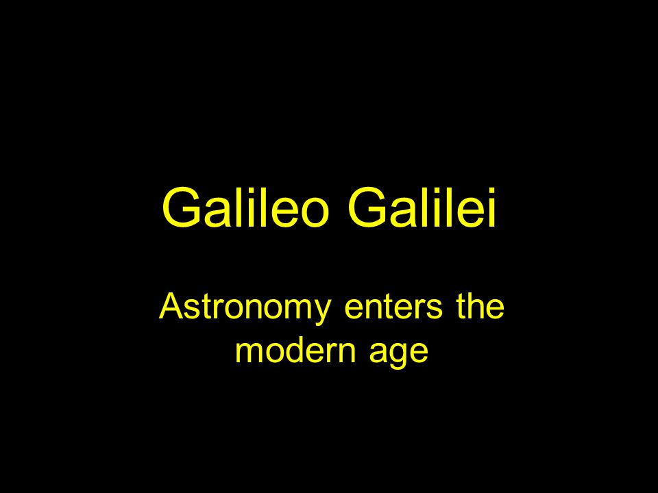The Phases of Venus Galileo observed that Venus showed phases, just like the moon.