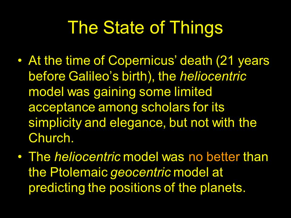 What else did Galileo contribute.