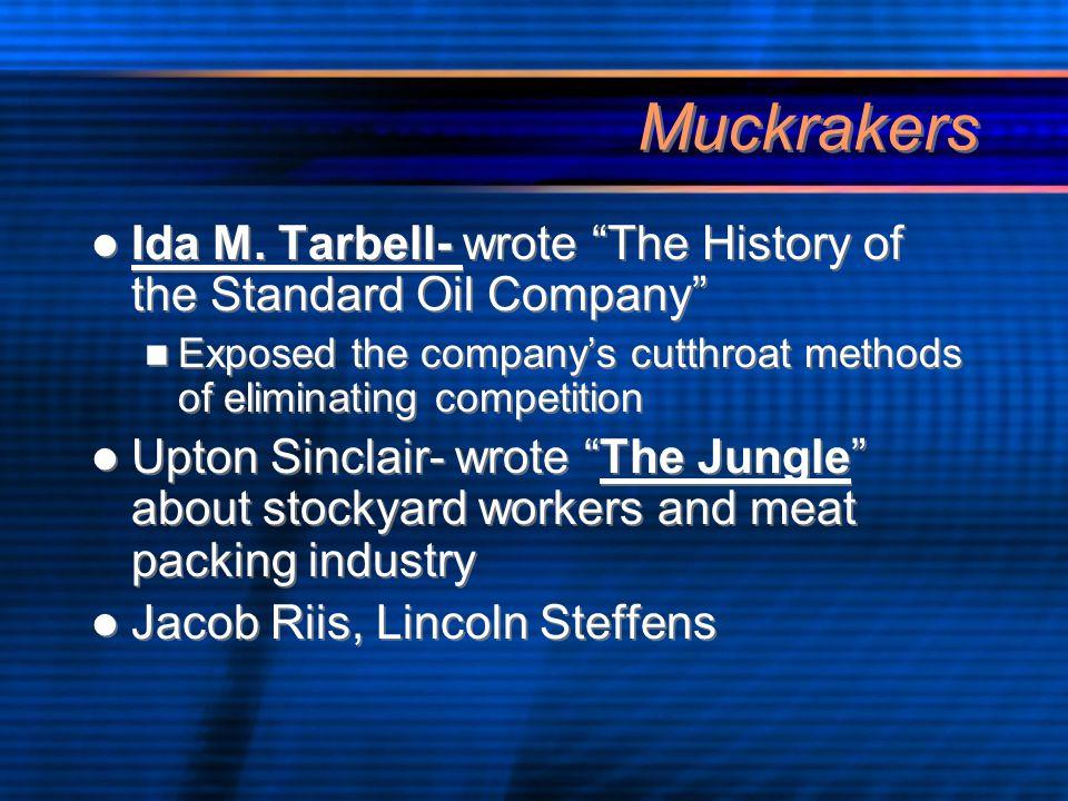Muckrakers Ida M.