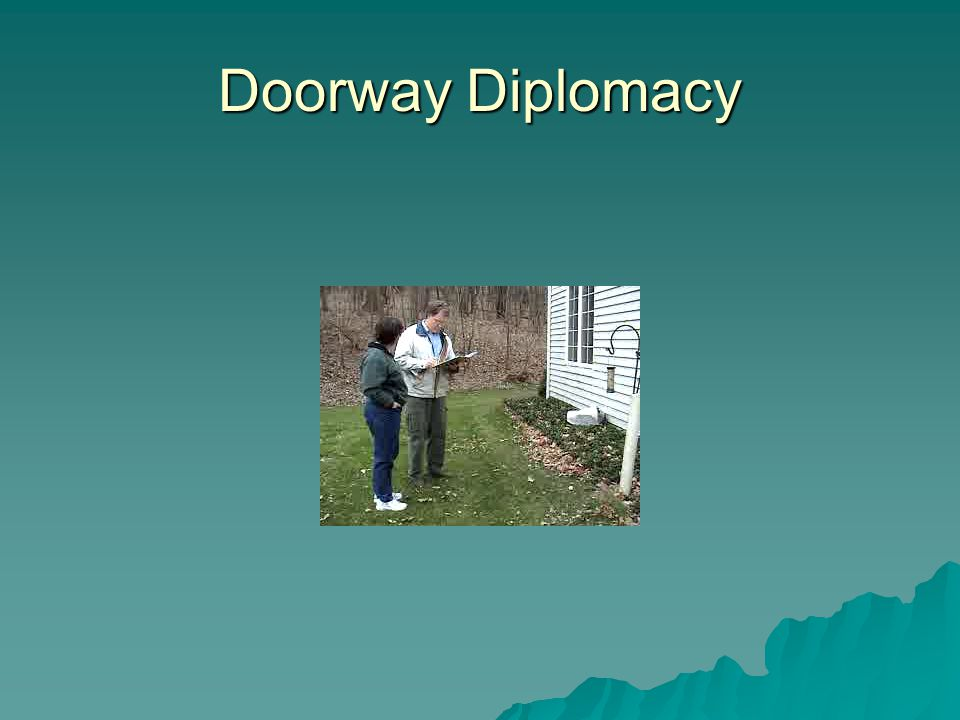 Doorway Diplomacy