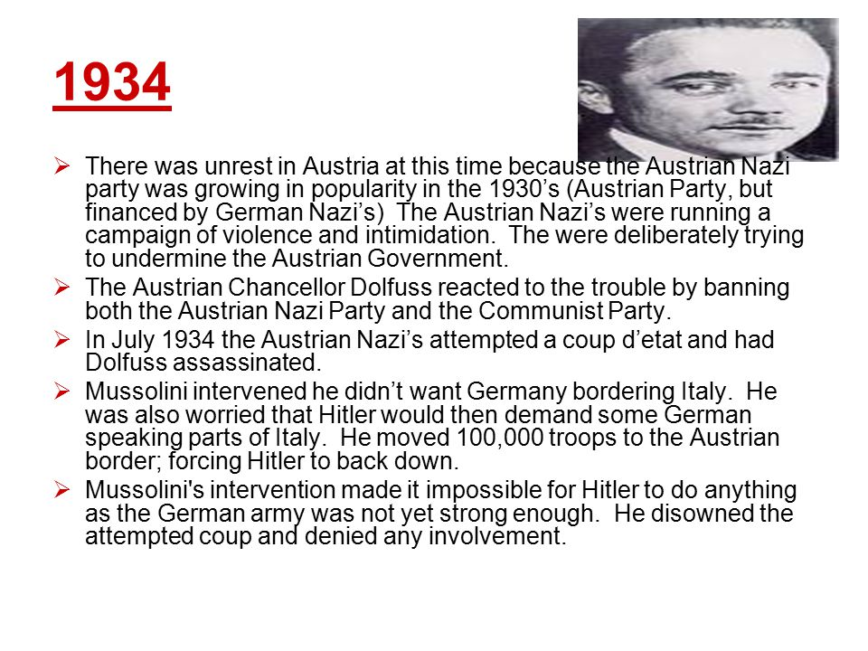 The Consequences of the Anschluss  Germany's population increased by 6.5 million people and had 100,000 extra soldiers.