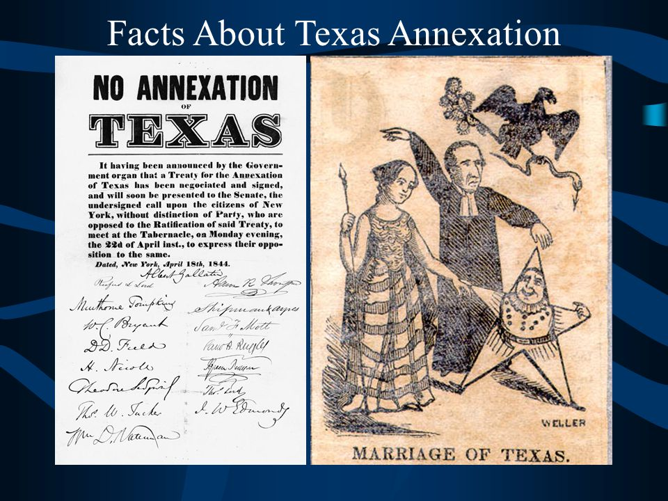 Facts About Texas Annexation