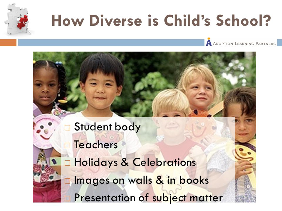 How Diverse is Child's School.