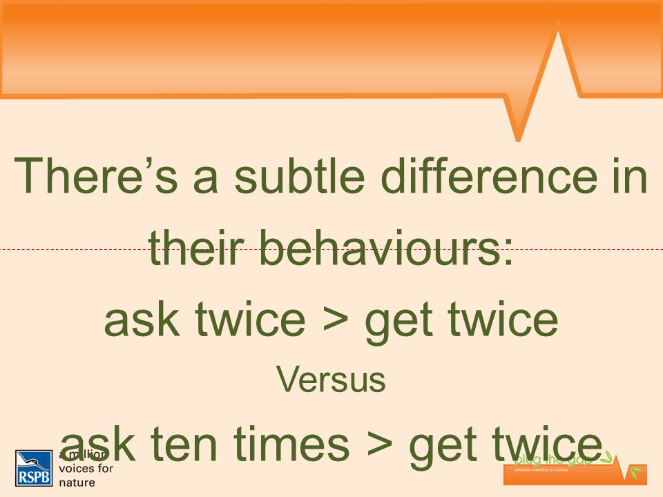 There's a subtle difference in their behaviours: ask twice > get twice Versus ask ten times > get twice