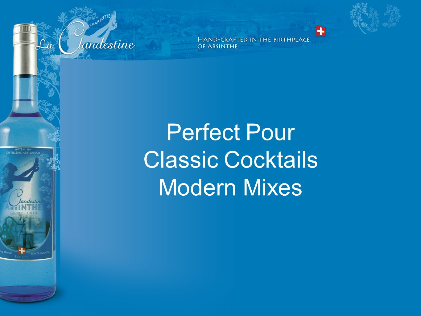 Perfect Pour Classic Cocktails Modern Mixes