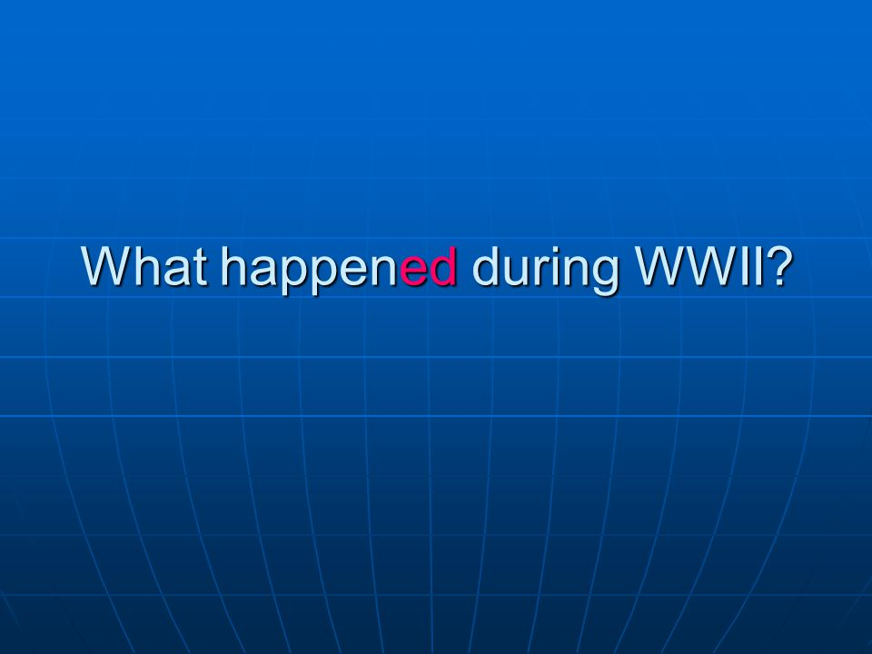 Answer: Churchill was Prime Minister during WWII