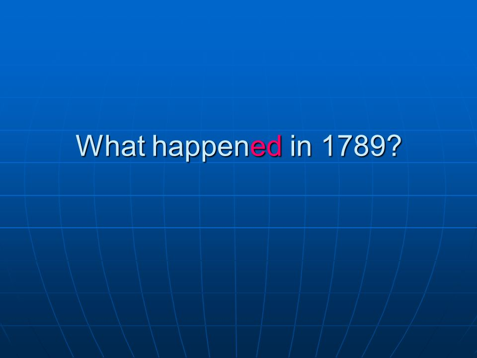 Answer: George Washington became the first President of the U.S..