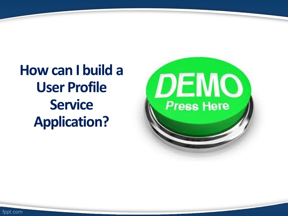 How can I build a User Profile Service Application