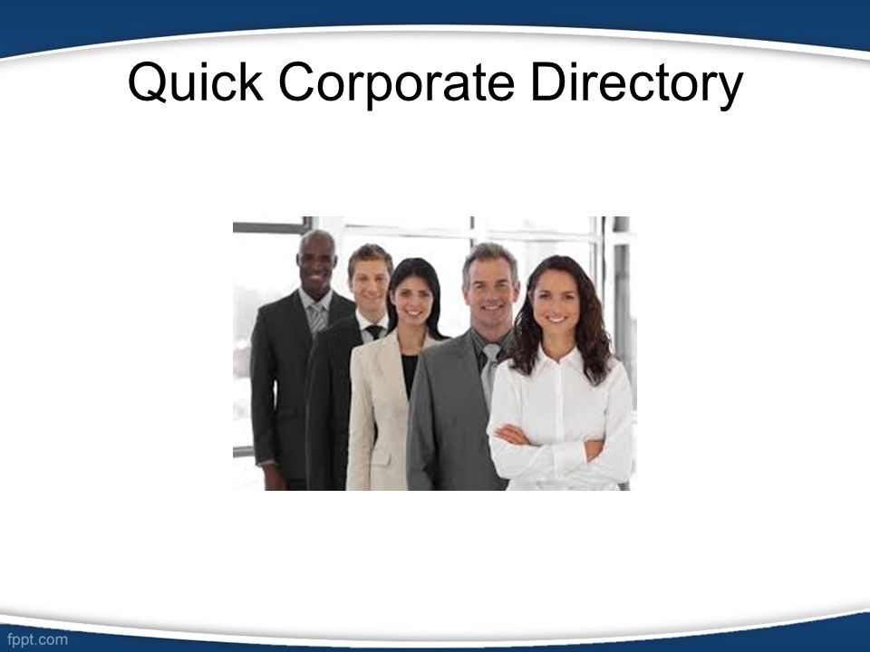 Quick Corporate Directory