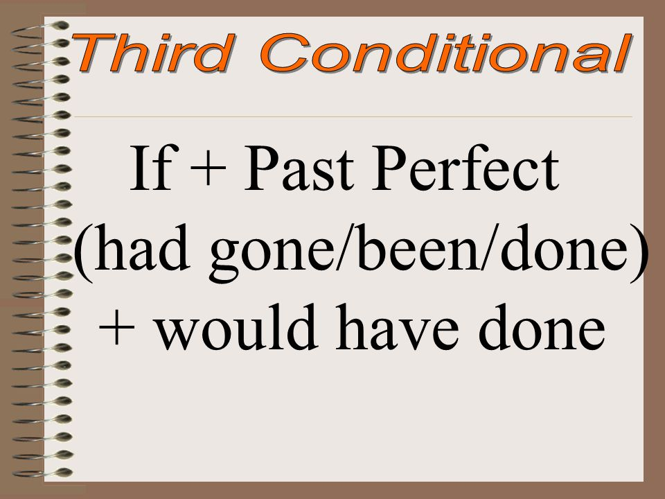 If + Past Perfect (had gone/been/done) + would have done