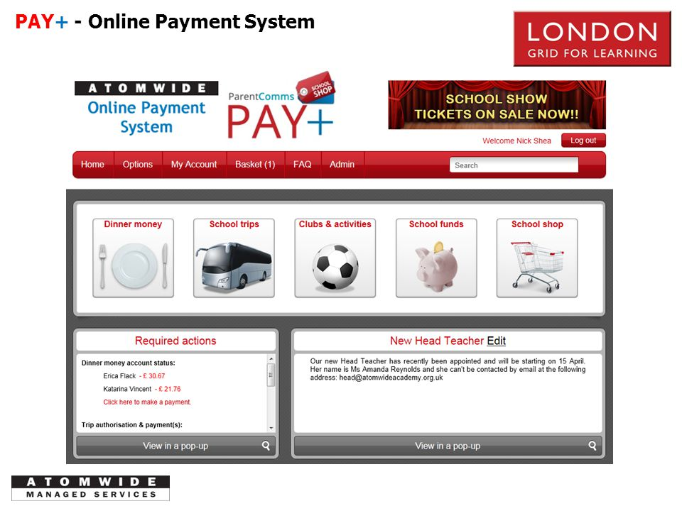 PAY+ - Online Payment System PSTN