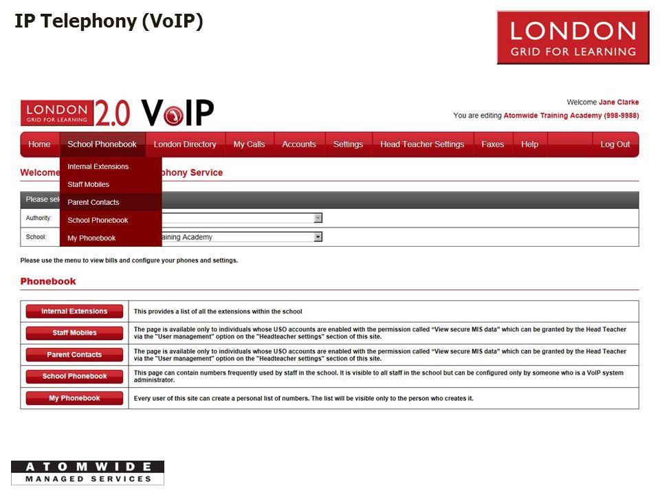 PSTN IP Telephony (VoIP)