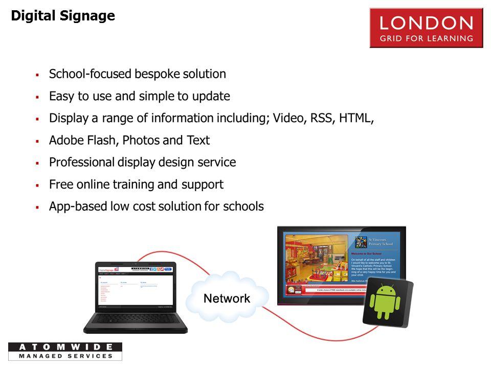Digital Signage PSTN