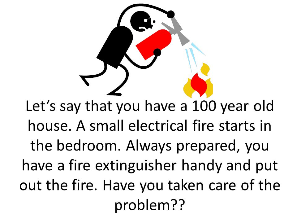 As a manager is fire fighting good or bad? Will the problem resurface?