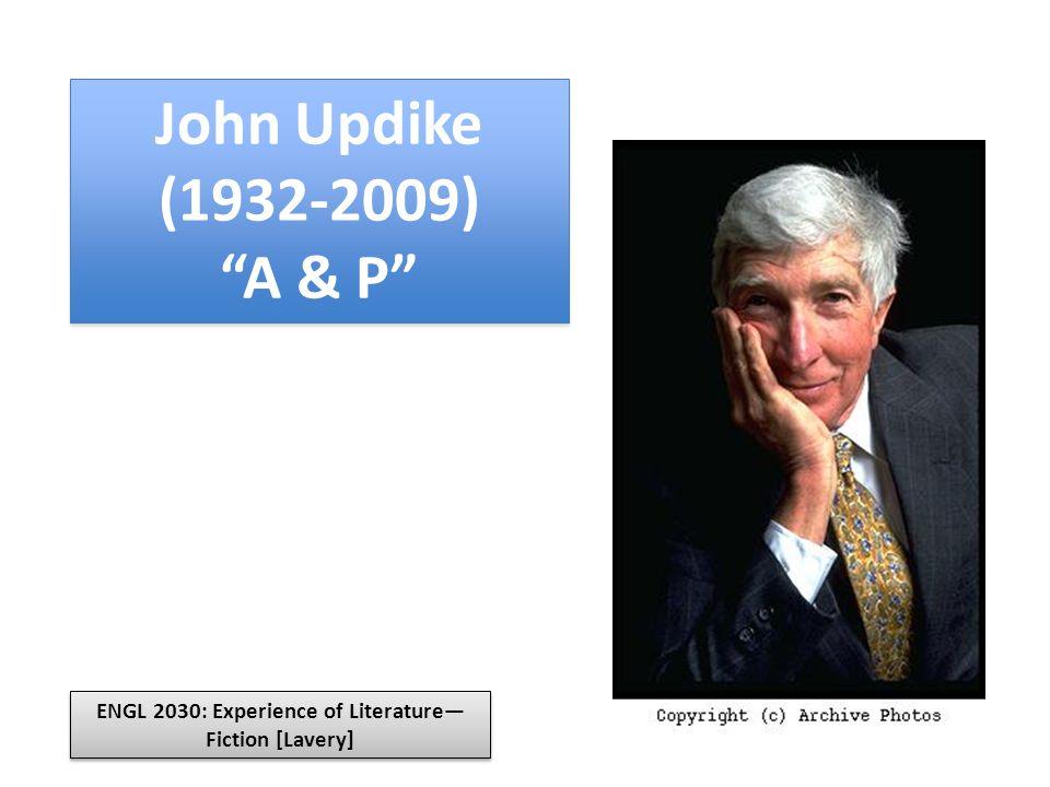 john updikes a p