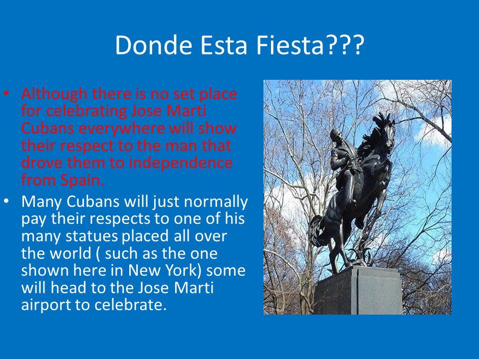 Donde Esta Fiesta??.
