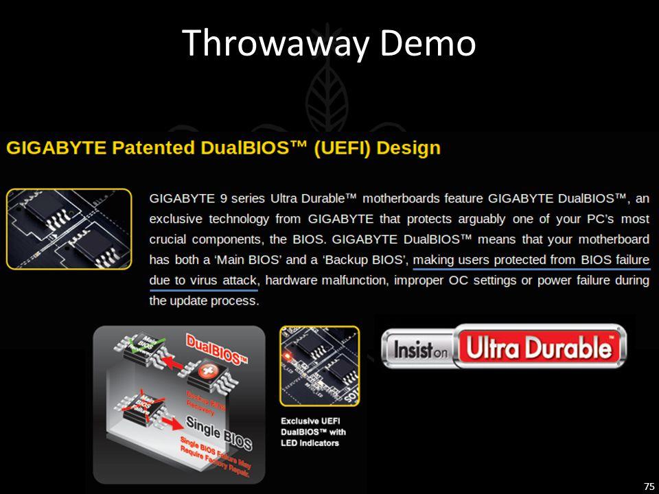 Throwaway Demo 75