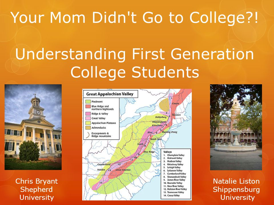 Your Mom Didn t Go to College .