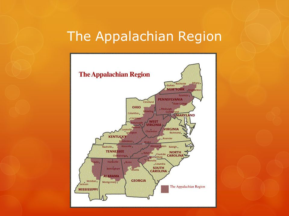 Appalachian Statistics Economic Conditions Poverty Rates