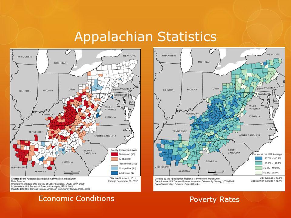 Appalachian Statistics High School Graduation Rates College Completion Rates