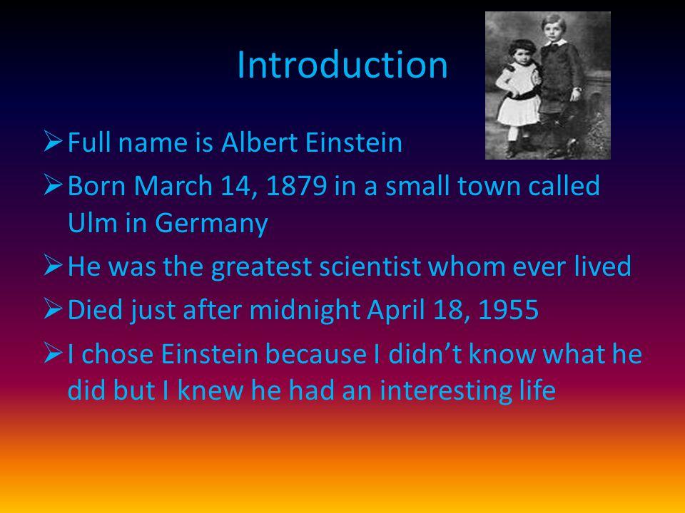 Einstein The Story of Albert Einstein Mae Blacker Freeman