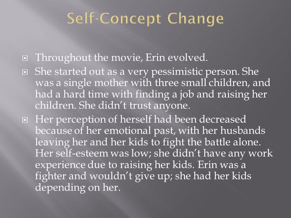 Erin's wardrobe spoke volumes in her non verbal communication