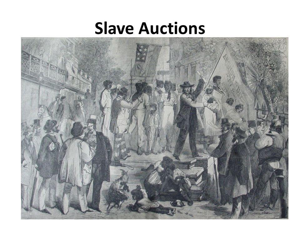Slave Auctions