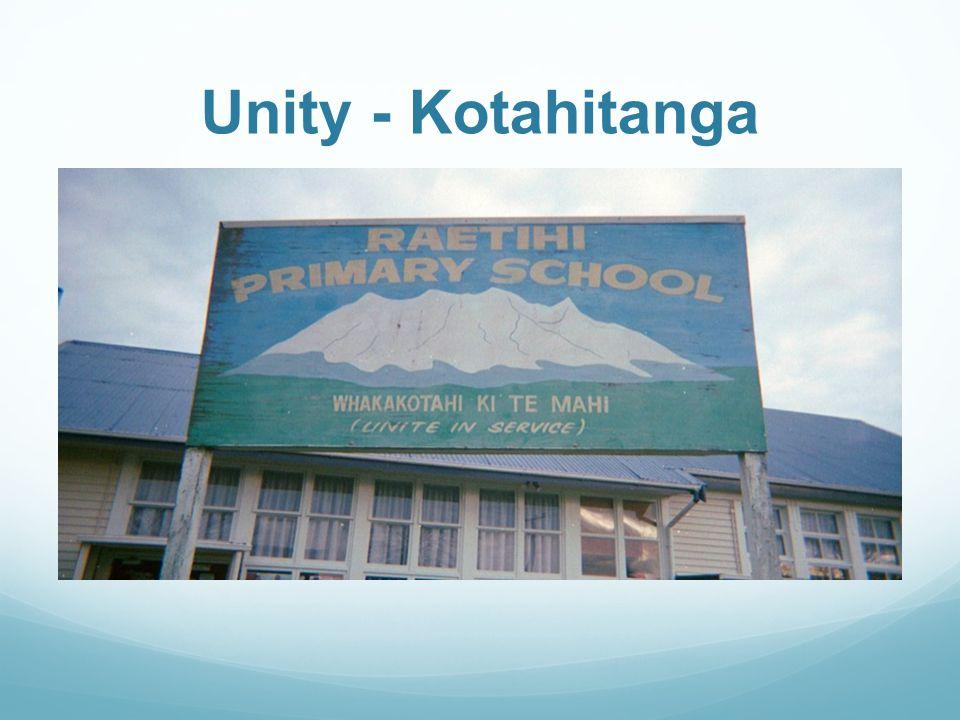 Unity - Kotahitanga