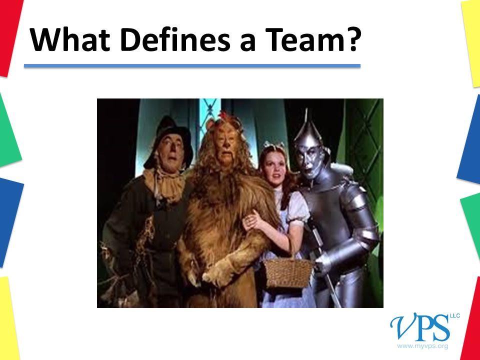 What Defines a Team