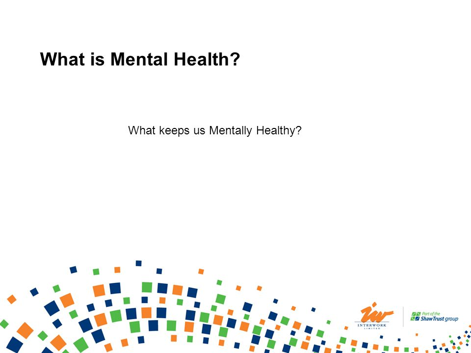 Who is Affected by Mental Health.