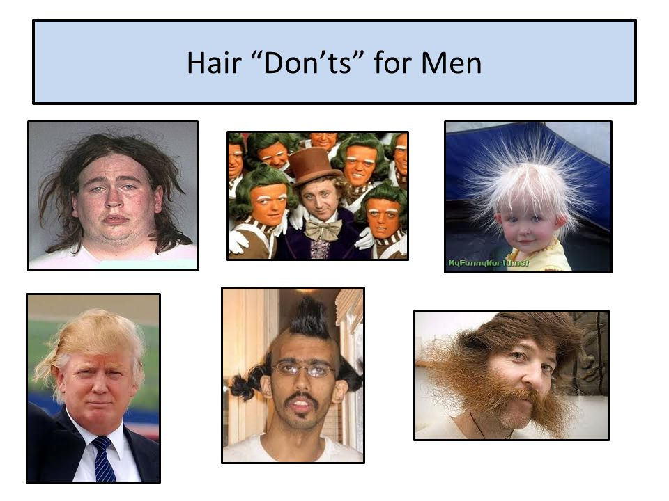 Hair Don'ts for Men
