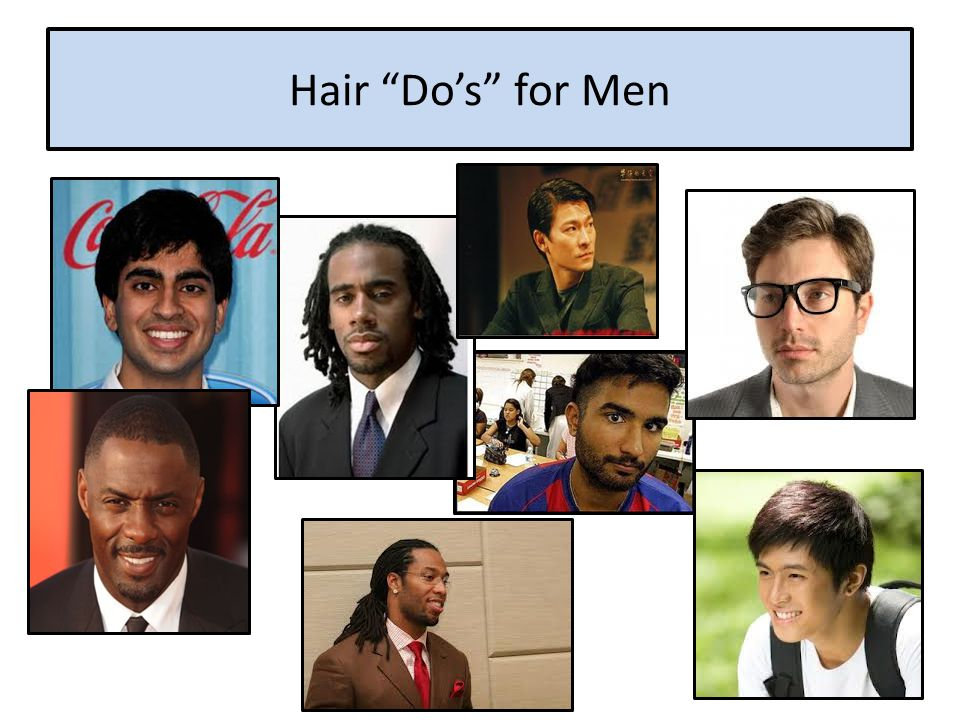 Hair Do's for Men