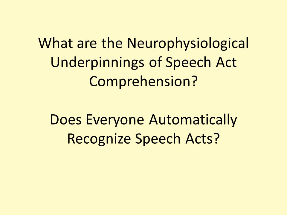 False Memory for Speech Act Verbs