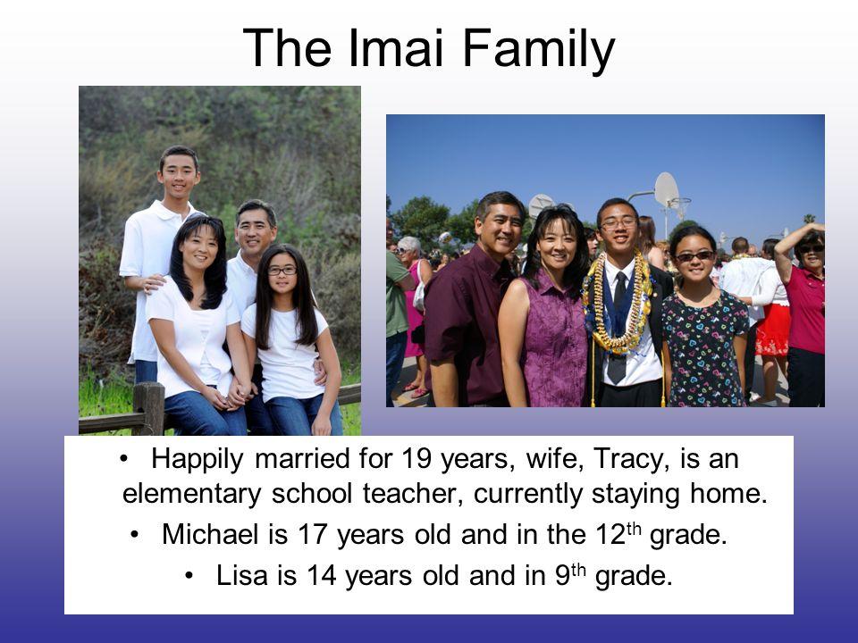 Who is Mr. Imai.