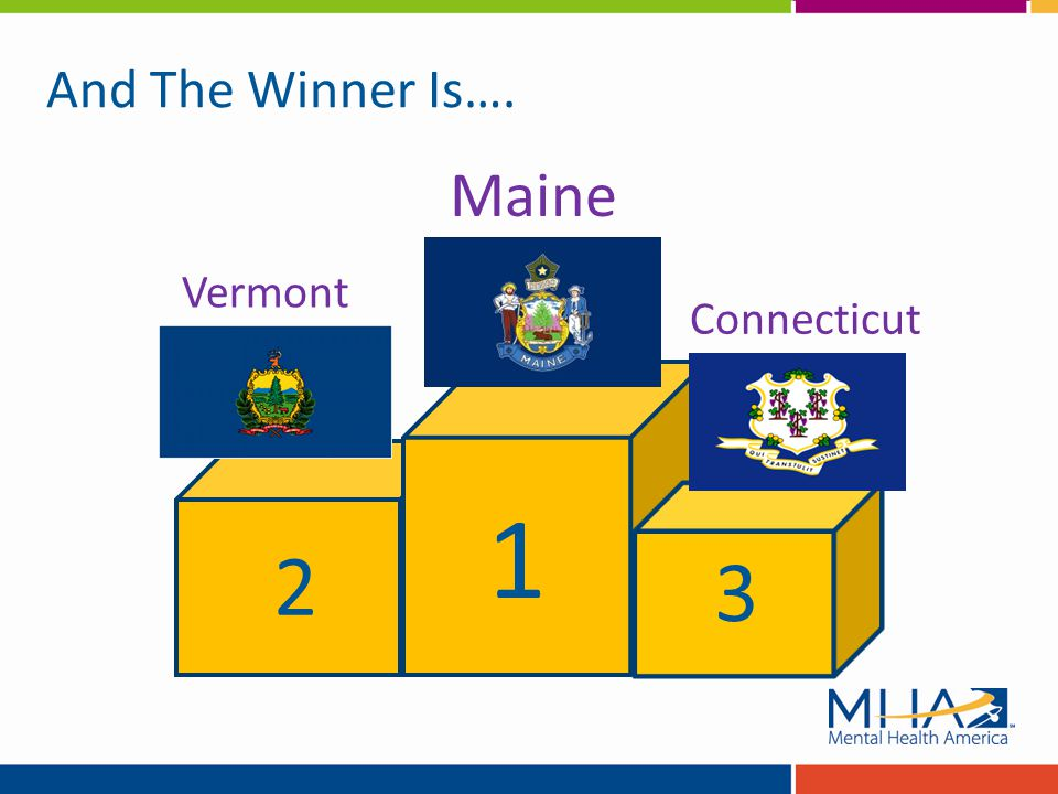 3 1 2 Vermont Maine Connecticut And The Winner Is….