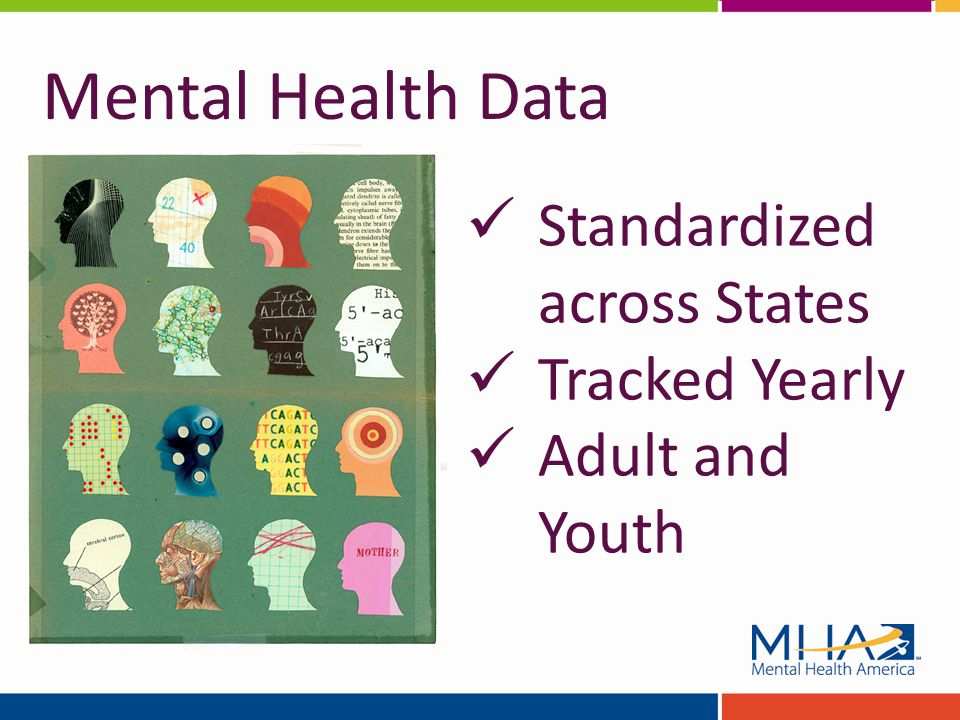 Standardized across States Tracked Yearly Adult and Youth Mental Health Data