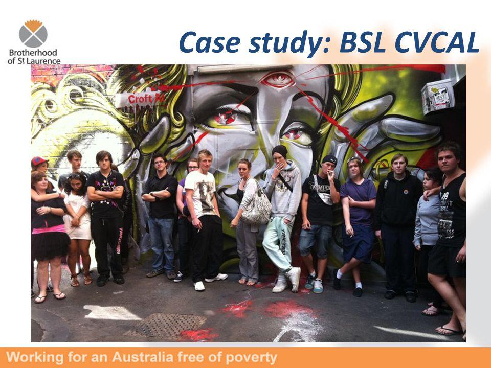 Case study: BSL CVCAL