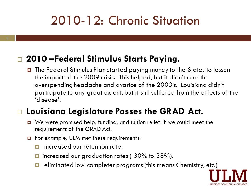 Personnel Reductions 6 From Pres. Bruno's State of The University Address