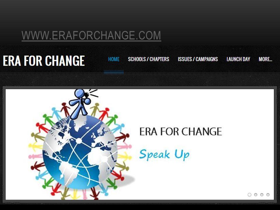 WWW.ERAFORCHANGE.COM
