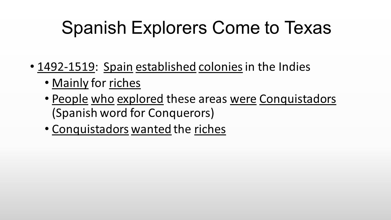 Alonzo Alvarez de Pineda Spanish Explorer Job: to map the coastline of Texas Year: 1519 His men were first Europeans to see Texas…but didn't explore it Journey was cut short when he ran into Cortes.