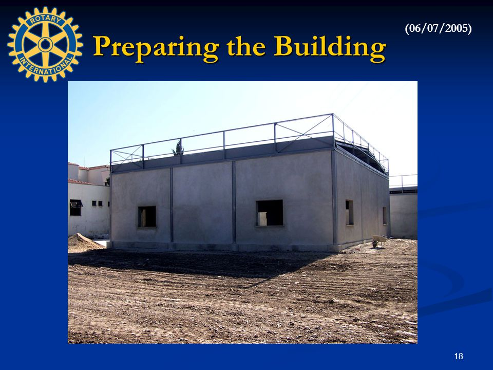 18 Preparing the Building (06/07/2005)