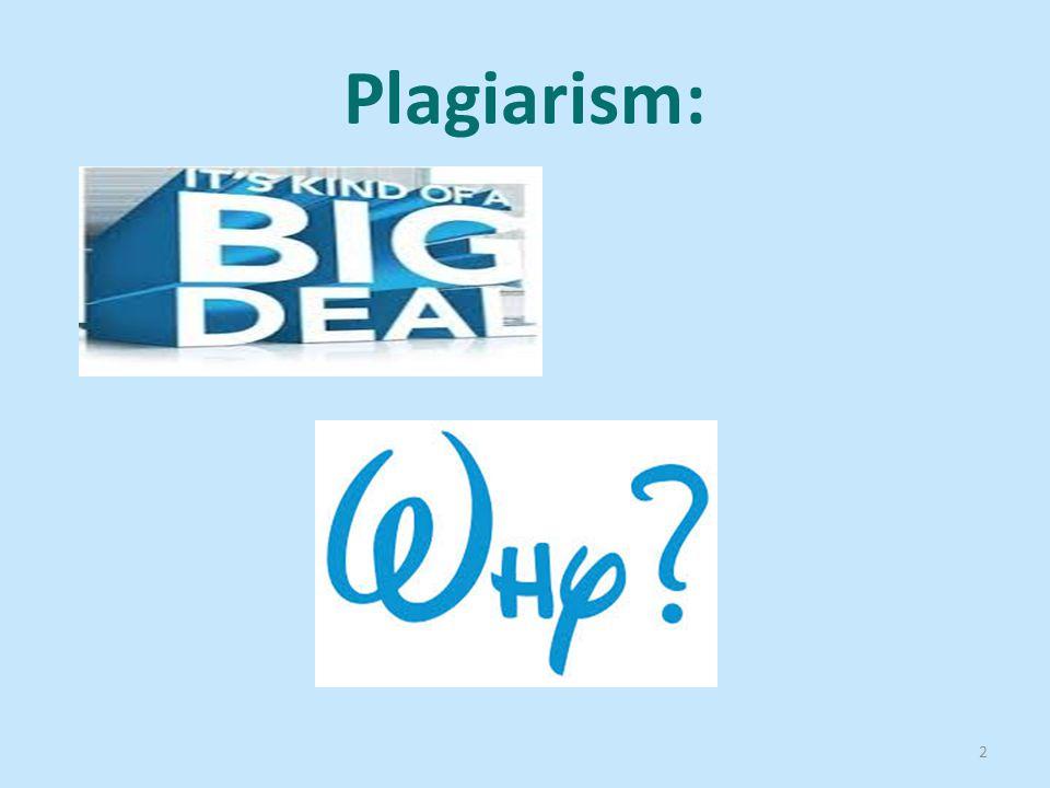 Plagiarism: 2
